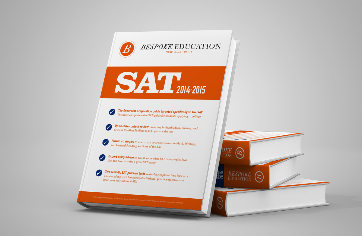 work bespoke education our task was to redesign the entire catalog of bespoke educational books we intentionally set out to be different than most of test prep books on the